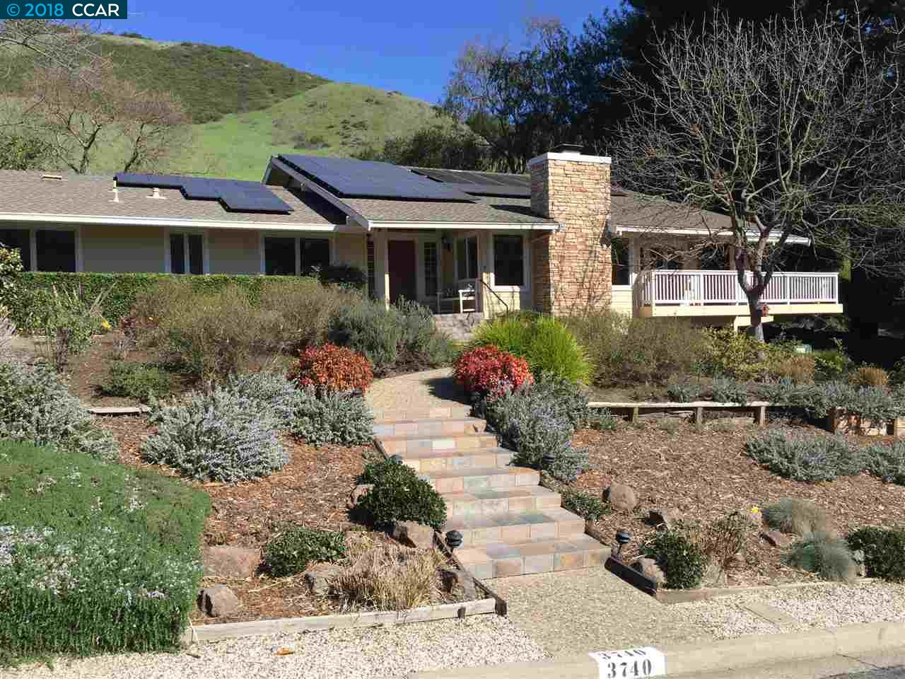 Single Family Home for Sale at 3740 St Francis Drive 3740 St Francis Drive Lafayette, California 94549 United States