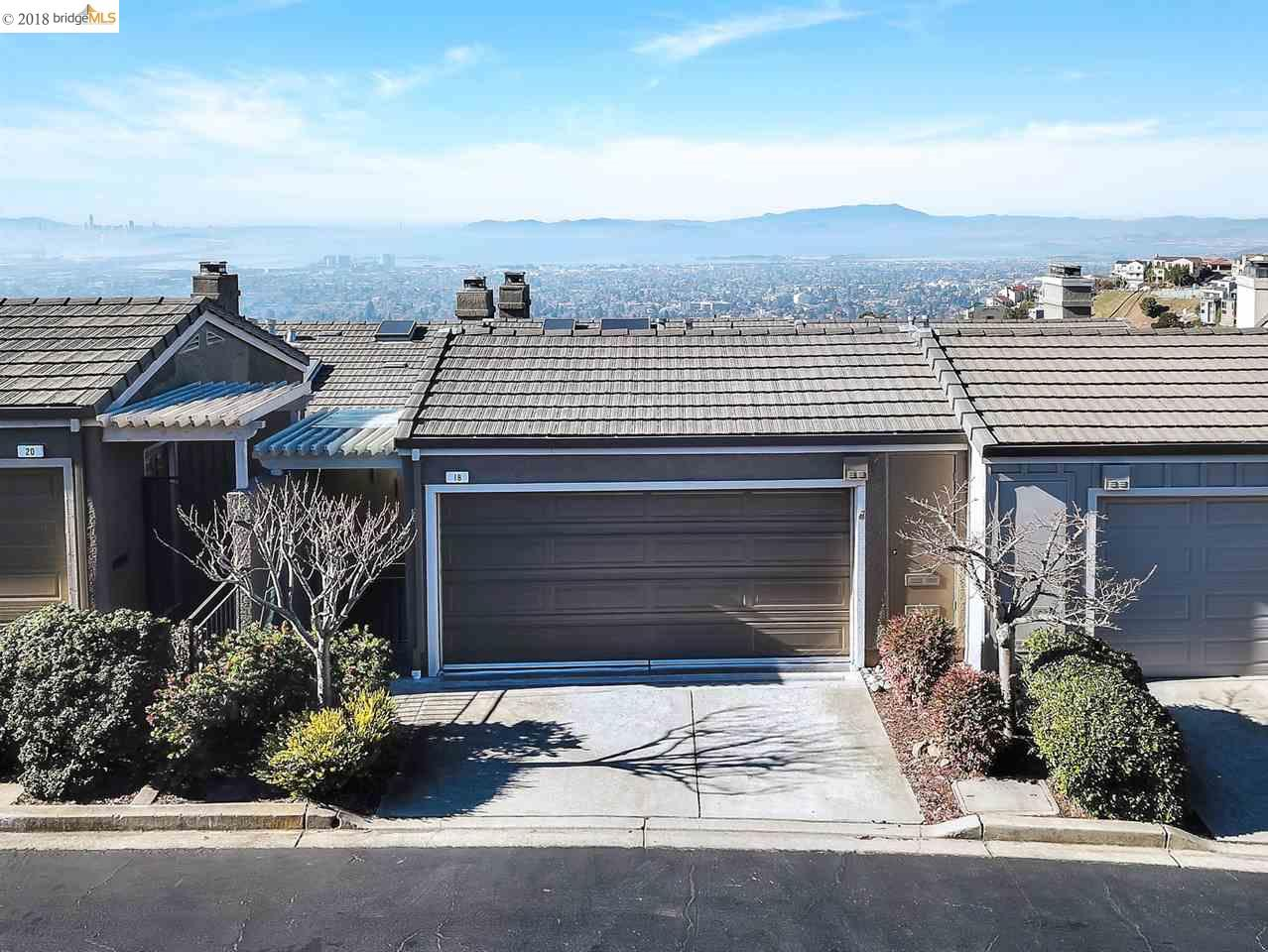 Townhouse for Sale at 18 Windward Hill 18 Windward Hill Oakland, California 94618 United States