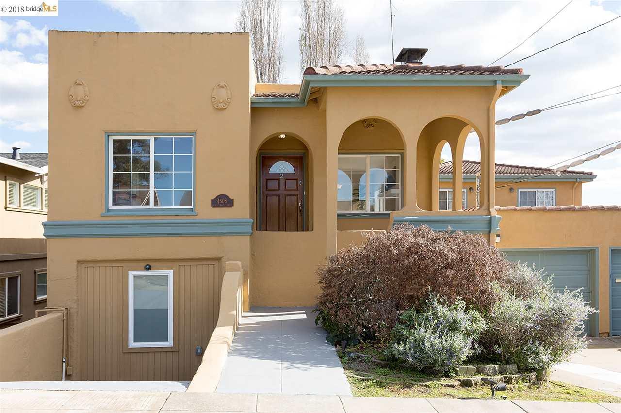 شقة بعمارة للـ Sale في 4508 Montgomery Street 4508 Montgomery Street Oakland, California 94611 United States