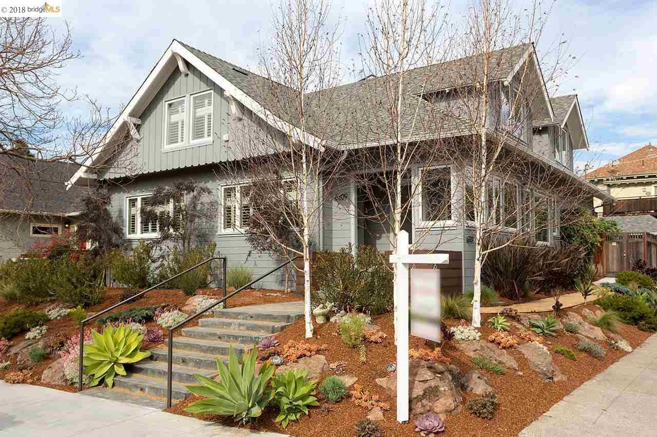 Maison avec plusieurs logements pour l Vente à 6207 Colby Street 6207 Colby Street Oakland, Californie 94618 États-Unis