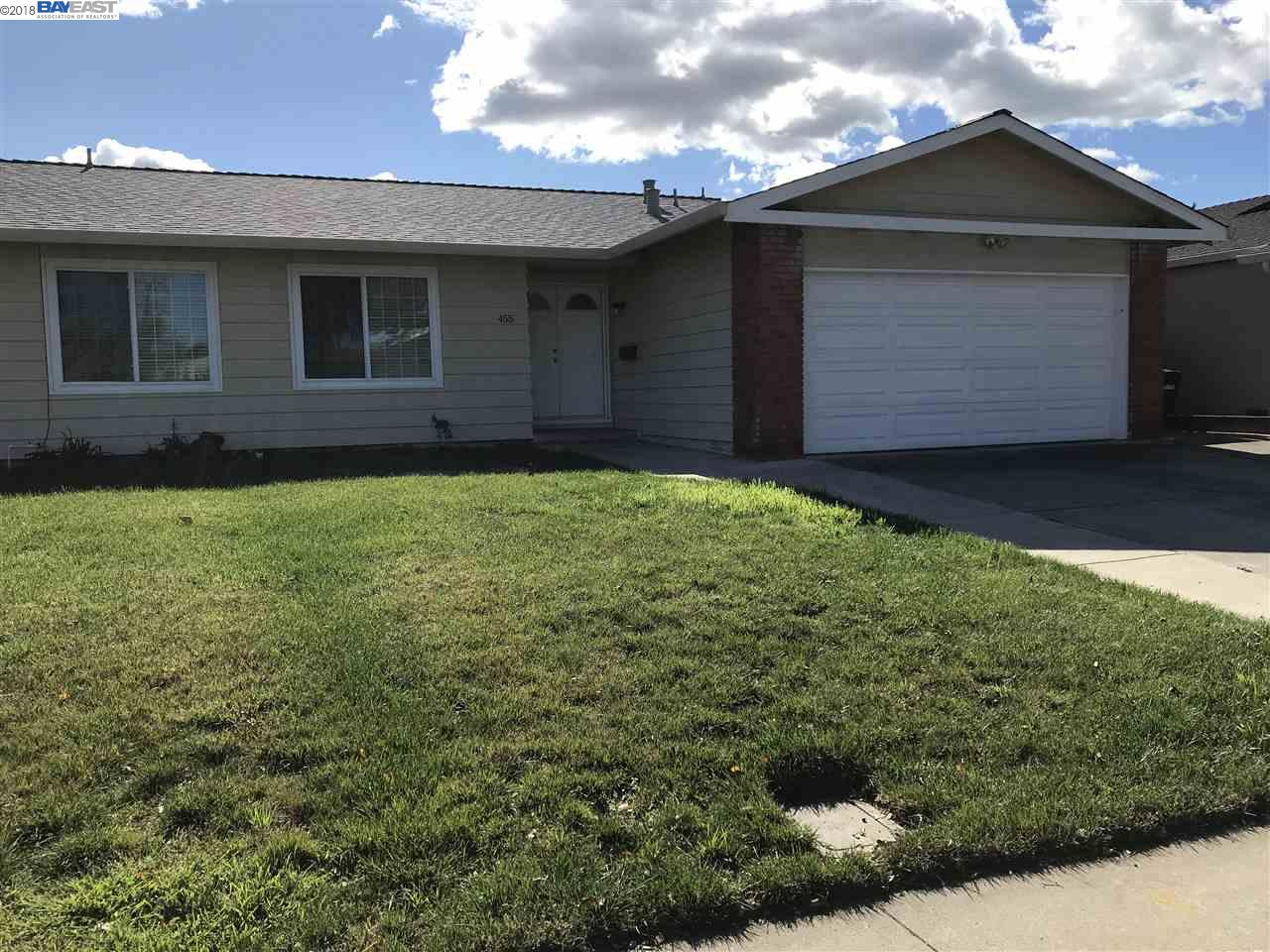 Maison unifamiliale pour l à louer à 455 Alameda Drive 455 Alameda Drive Livermore, Californie 94551 États-Unis
