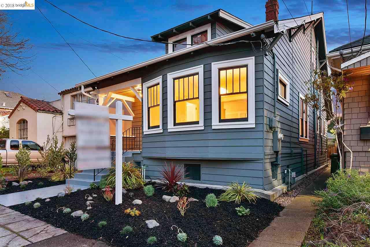 Casa Unifamiliar por un Venta en 489 McAuley Street 489 McAuley Street Oakland, California 94609 Estados Unidos