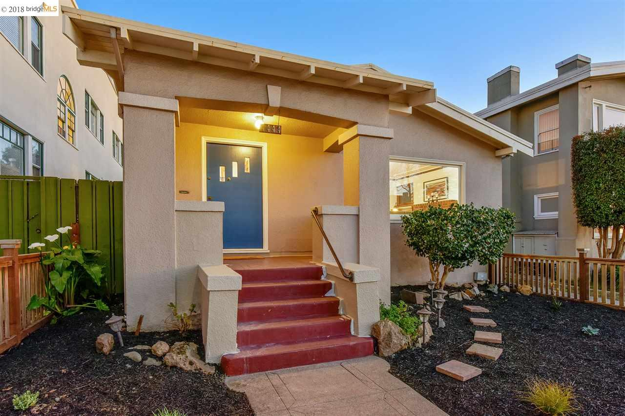 Single Family Home for Sale at 4444 Park Blvd 4444 Park Blvd Oakland, California 94602 United States
