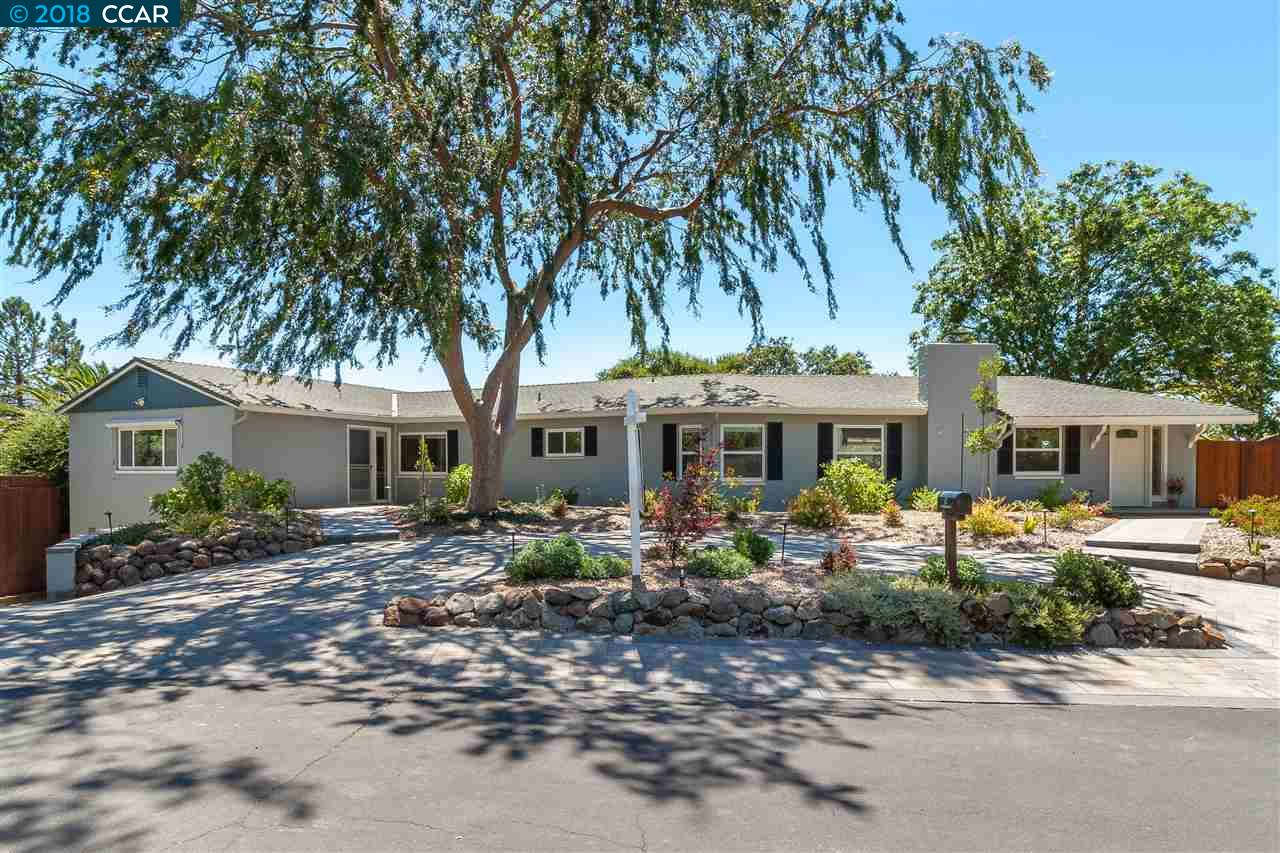 Single Family Home for Sale at 2131 Hillview Drive 2131 Hillview Drive Walnut Creek, California 94596 United States