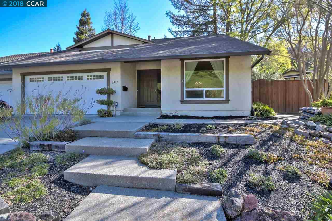 一戸建て のために 売買 アット 2077 Robb Road 2077 Robb Road Walnut Creek, カリフォルニア 94596 アメリカ合衆国