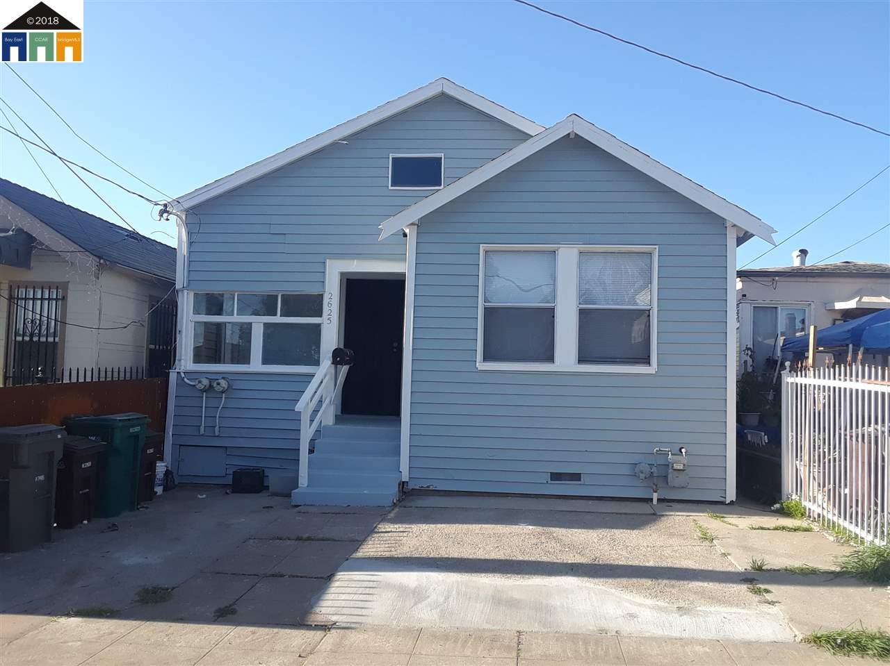Multi-Family Home for Sale at 2625 75th Avenue 2625 75th Avenue Oakland, California 94605 United States