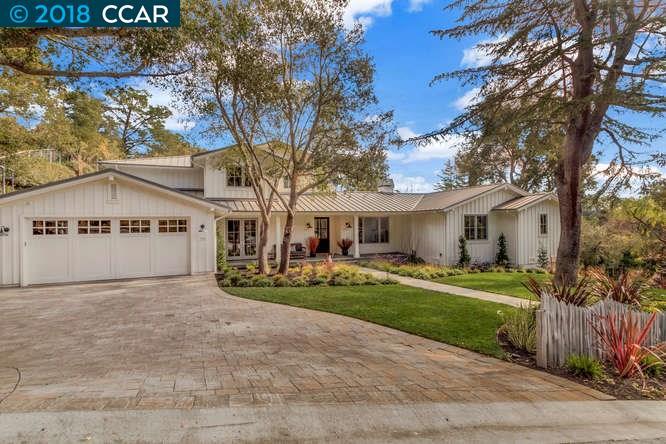 Частный односемейный дом для того Продажа на 36 Las Vegas 36 Las Vegas Orinda, Калифорния 94563 Соединенные Штаты
