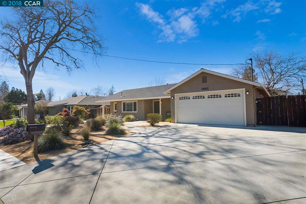 واحد منزل الأسرة للـ Sale في 1882 Maybelle Drive 1882 Maybelle Drive Pleasant Hill, California 94523 United States