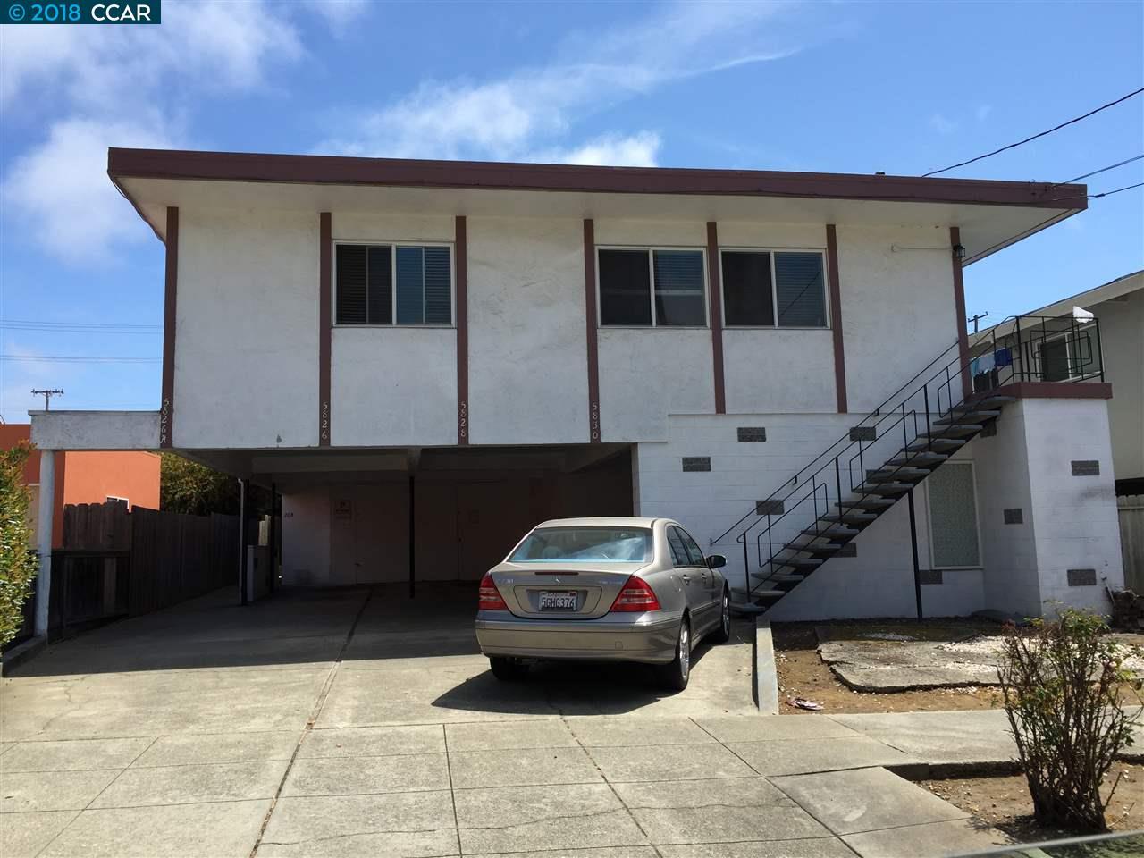 Casa Multifamiliar por un Venta en 5828 Alameda Avenue 5828 Alameda Avenue Richmond, California 94804 Estados Unidos