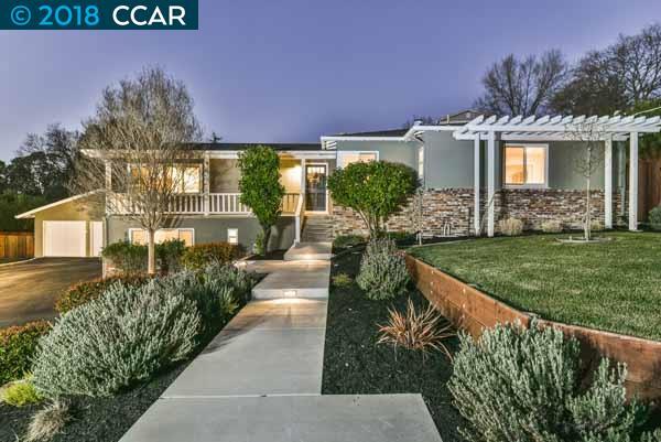 Single Family Home for Sale at 2120 Carrol Road 2120 Carrol Road Walnut Creek, California 94596 United States