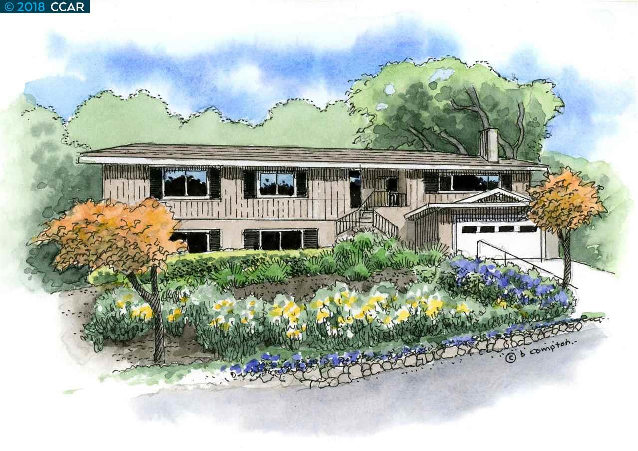 Частный односемейный дом для того Продажа на 506 Silverado Drive 506 Silverado Drive Lafayette, Калифорния 94549 Соединенные Штаты