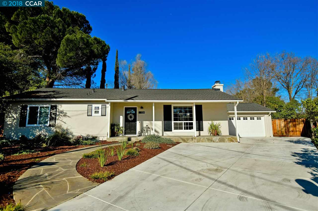 واحد منزل الأسرة للـ Sale في 130 Wyatt Circle 130 Wyatt Circle Pleasant Hill, California 94523 United States