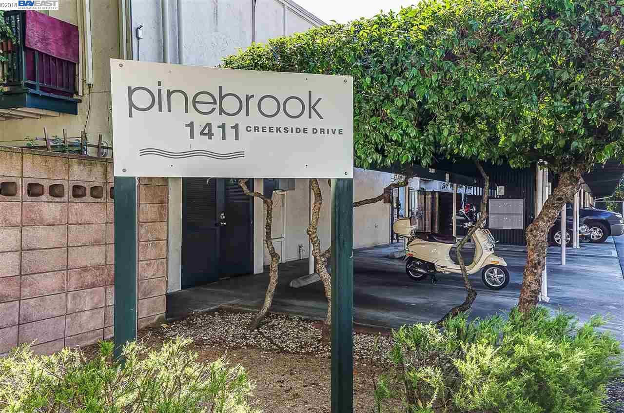 Condominium for Sale at 1411 Creekside Drive 1411 Creekside Drive Walnut Creek, California 94596 United States