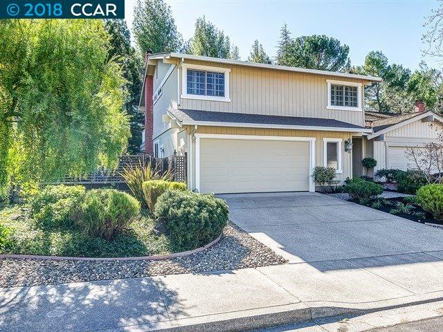 Townhouse for Sale at 2259 Gladwin Drive 2259 Gladwin Drive Walnut Creek, California 94596 United States