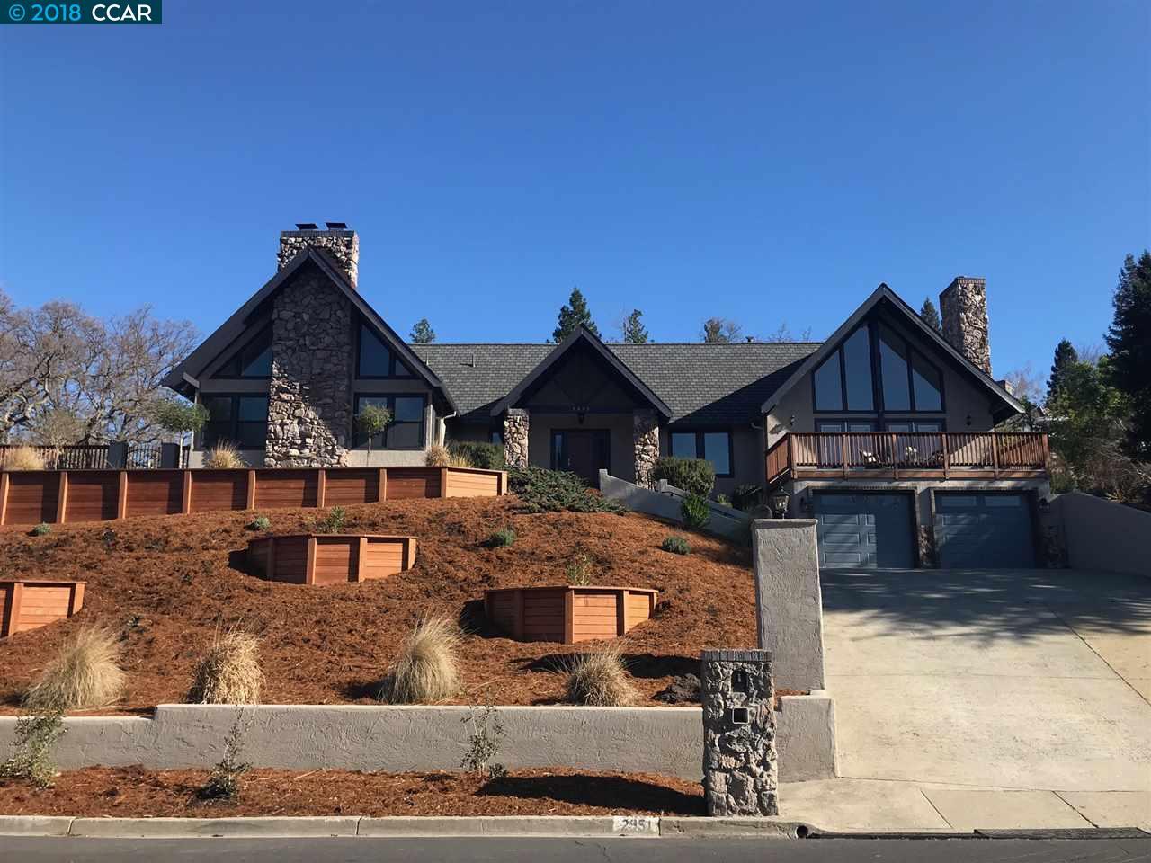 一戸建て のために 賃貸 アット 2951 Roundhill Road 2951 Roundhill Road Alamo, カリフォルニア 95607 アメリカ合衆国