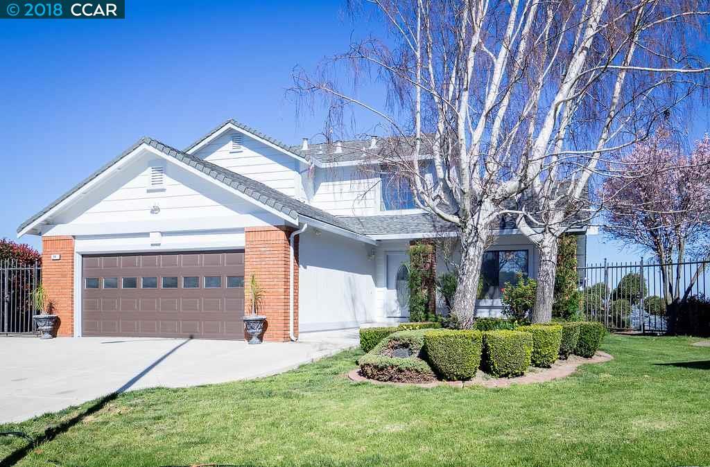 Частный односемейный дом для того Продажа на 66 Tost Court 66 Tost Court Crockett, Калифорния 94525 Соединенные Штаты