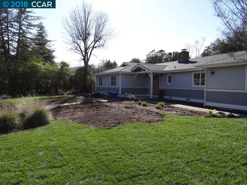 一戸建て のために 賃貸 アット 121 Easy Street 121 Easy Street Alamo, カリフォルニア 94507 アメリカ合衆国