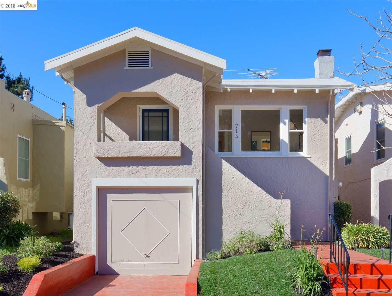 Maison unifamiliale pour l Vente à 714 Pomona Avenue 714 Pomona Avenue Albany, Californie 94706 États-Unis