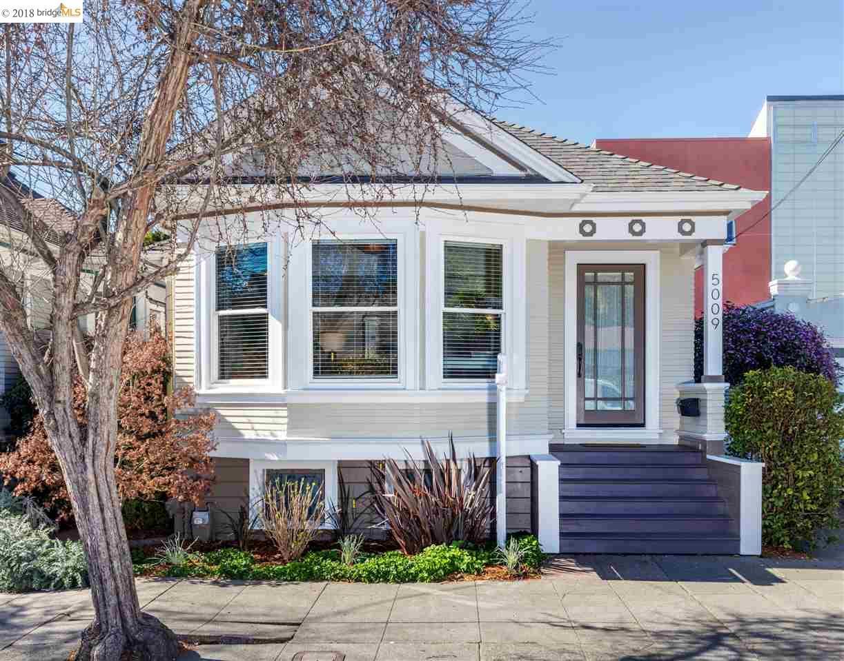 واحد منزل الأسرة للـ Sale في 5009 Clarke Street 5009 Clarke Street Oakland, California 94609 United States