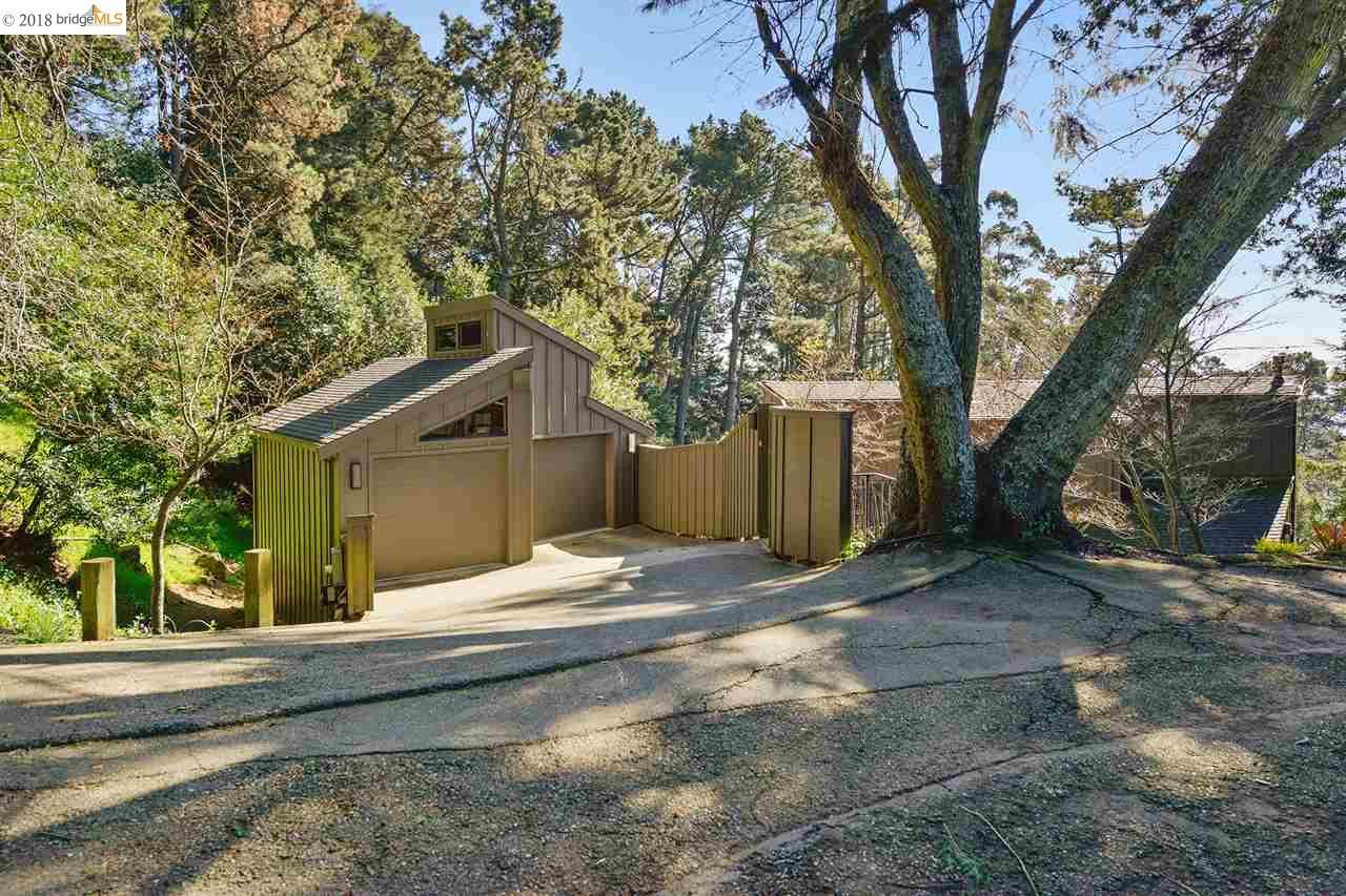 Maison unifamiliale pour l Vente à 5989 Grizzly Peak Blvd 5989 Grizzly Peak Blvd Oakland, Californie 94611 États-Unis