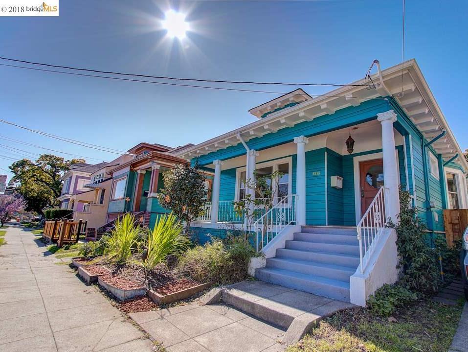 واحد منزل الأسرة للـ Sale في 5315 Dover Street 5315 Dover Street Oakland, California 94609 United States