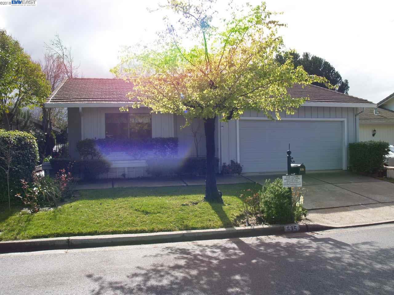 واحد منزل الأسرة للـ Rent في 535 Cambrian Way 535 Cambrian Way Danville, California 94526 United States