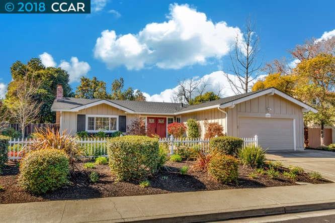 واحد منزل الأسرة للـ Sale في 639 Sitka Drive 639 Sitka Drive Walnut Creek, California 94598 United States
