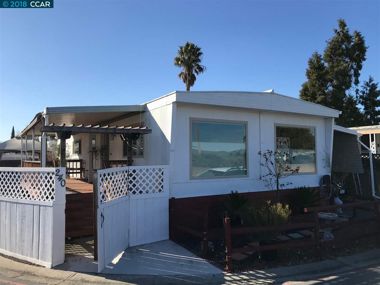 واحد منزل الأسرة للـ Sale في 240 Faran Drive 240 Faran Drive Pacheco, California 94553 United States