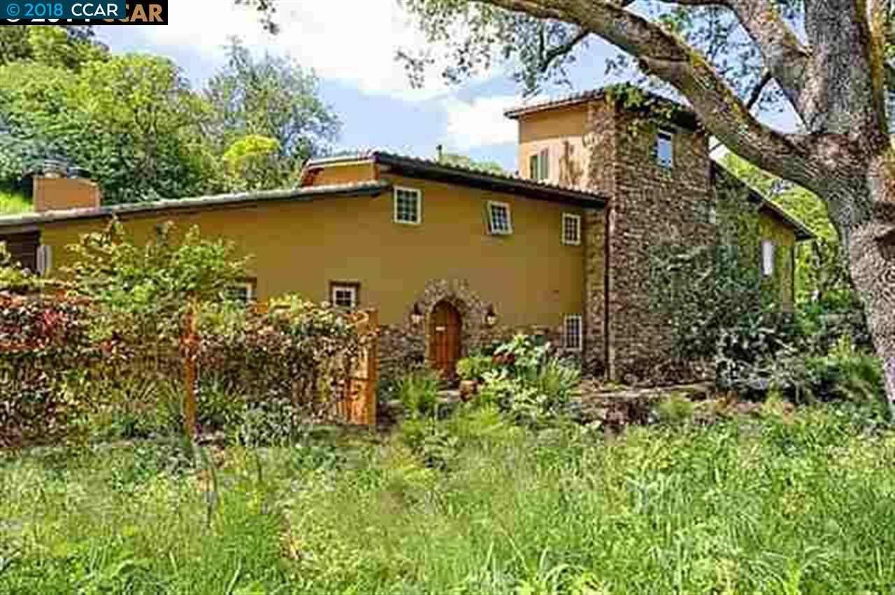一戸建て のために 賃貸 アット 289 CASTLE HILL RANCH Road 289 CASTLE HILL RANCH Road Walnut Creek, カリフォルニア 94595 アメリカ合衆国