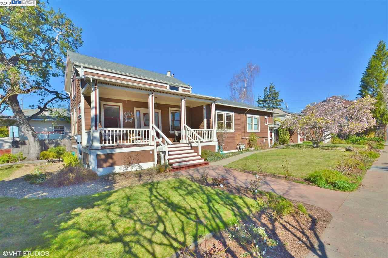 多戶家庭房屋 為 出售 在 1223 Post Street 1223 Post Street Alameda, 加利福尼亞州 94501 美國