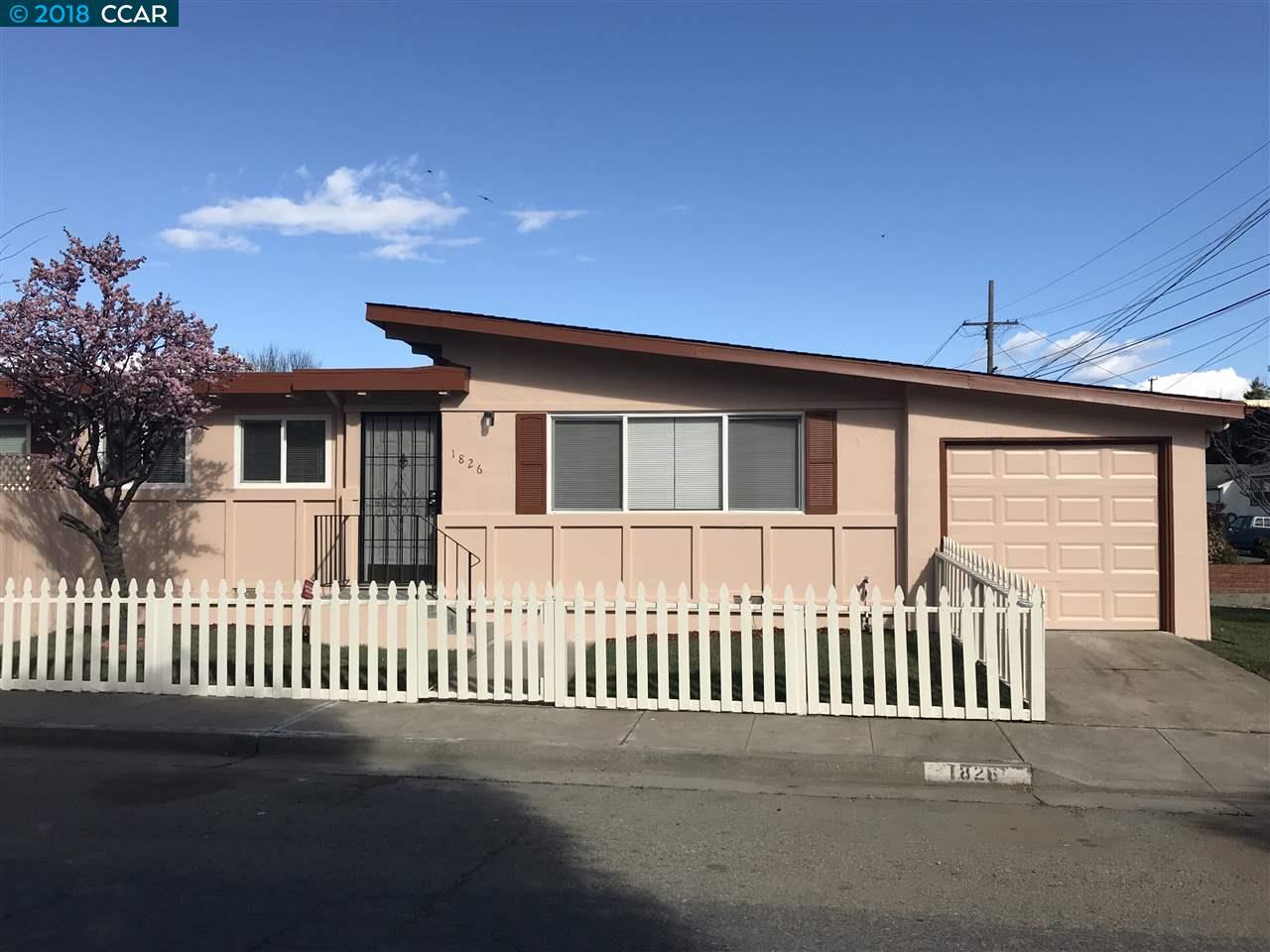一戸建て のために 売買 アット 1826 San Luis Street 1826 San Luis Street Richmond, カリフォルニア 94804 アメリカ合衆国