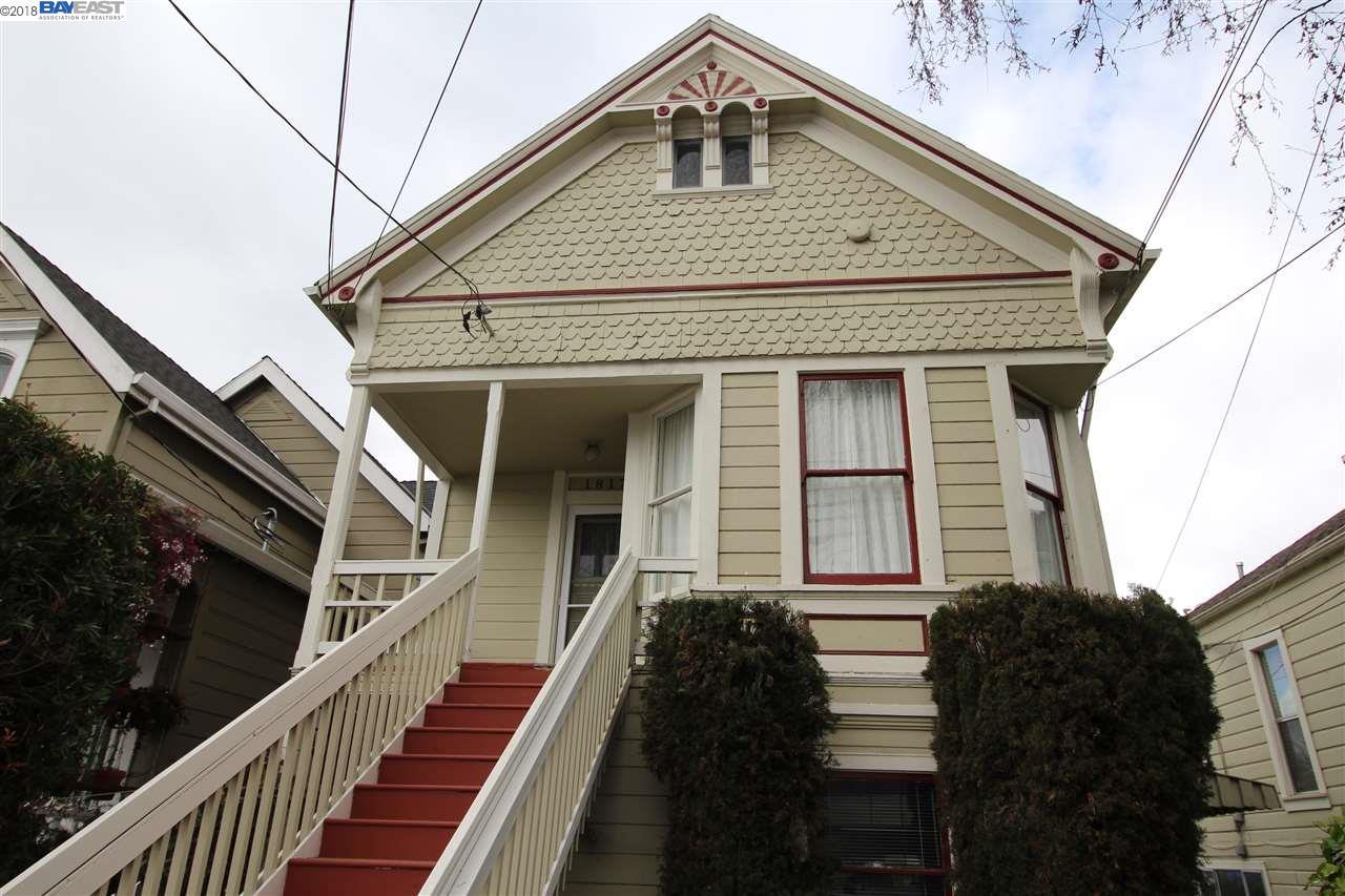 متعددة للعائلات الرئيسية للـ Rent في 1817 Sherman Street 1817 Sherman Street Alameda, California 94501 United States