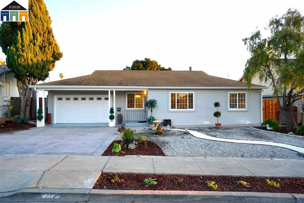 Maison unifamiliale pour l Vente à 412 Emerson Street 412 Emerson Street Fremont, Californie 94539 États-Unis