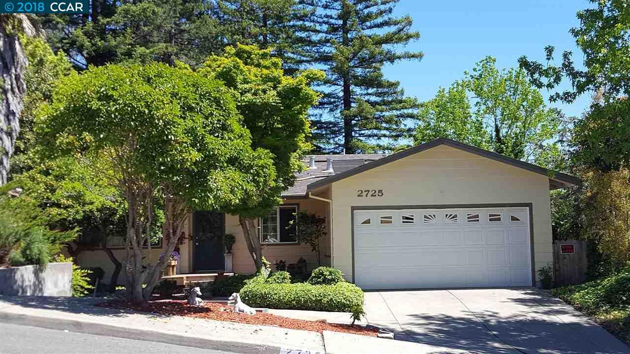 واحد منزل الأسرة للـ Sale في 2725 Silverado Drive 2725 Silverado Drive Pinole, California 94564 United States