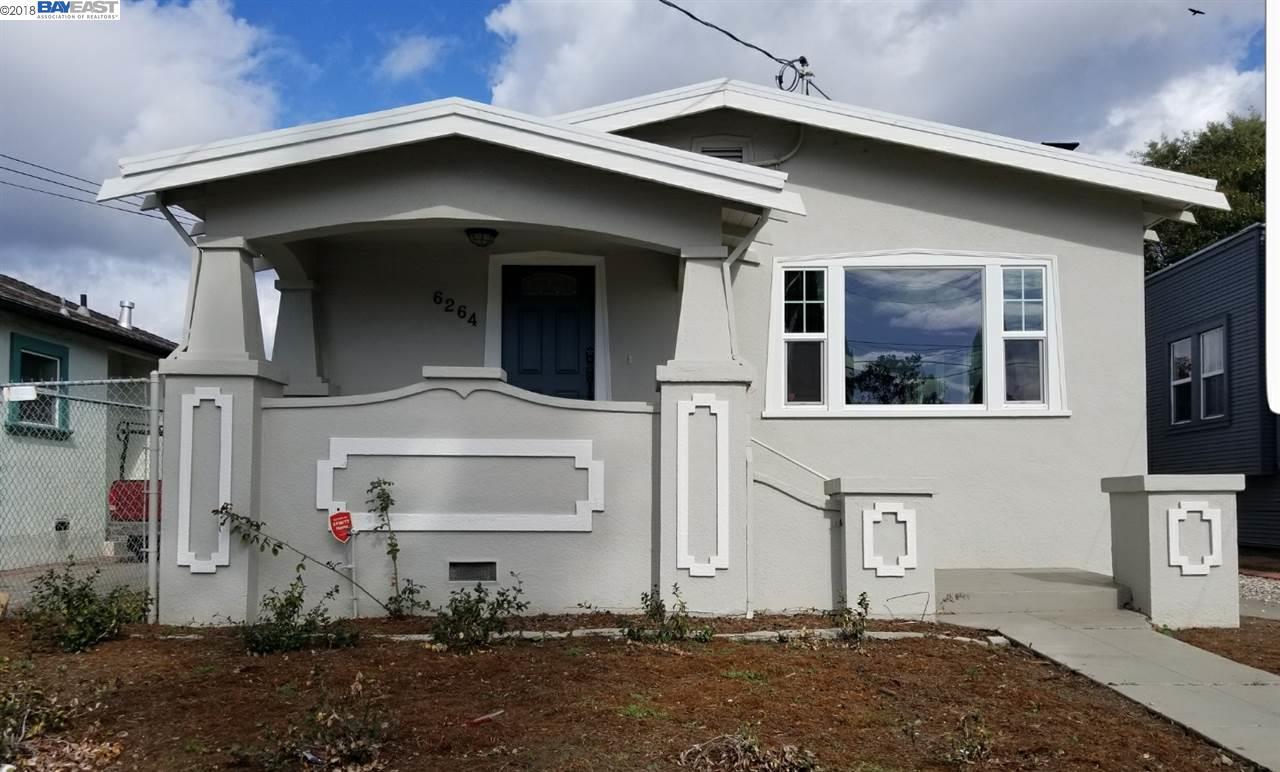 一戸建て のために 売買 アット 6264 Hayes Street 6264 Hayes Street Oakland, カリフォルニア 94621 アメリカ合衆国