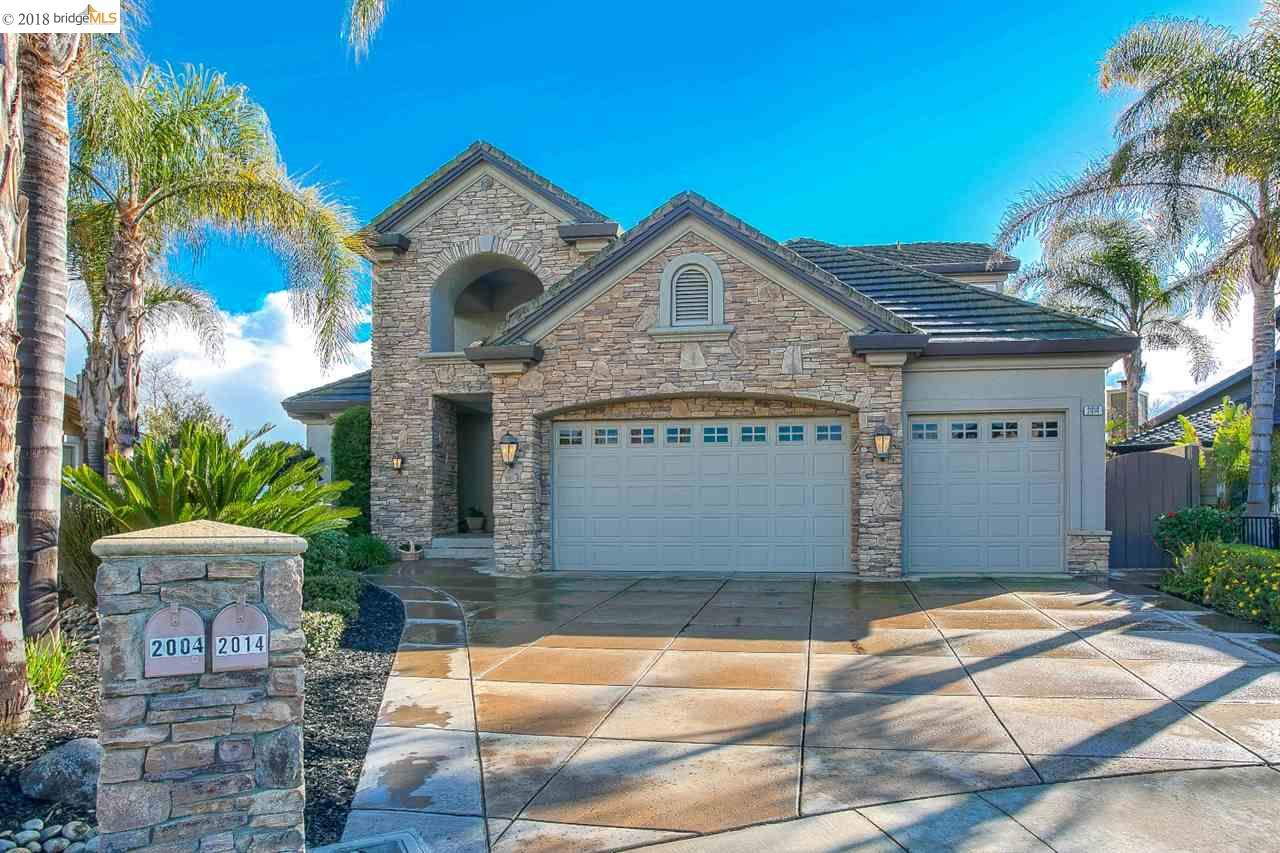 Single Family Home for Sale at 2014 Seal Way 2014 Seal Way Discovery Bay, California 94505 United States