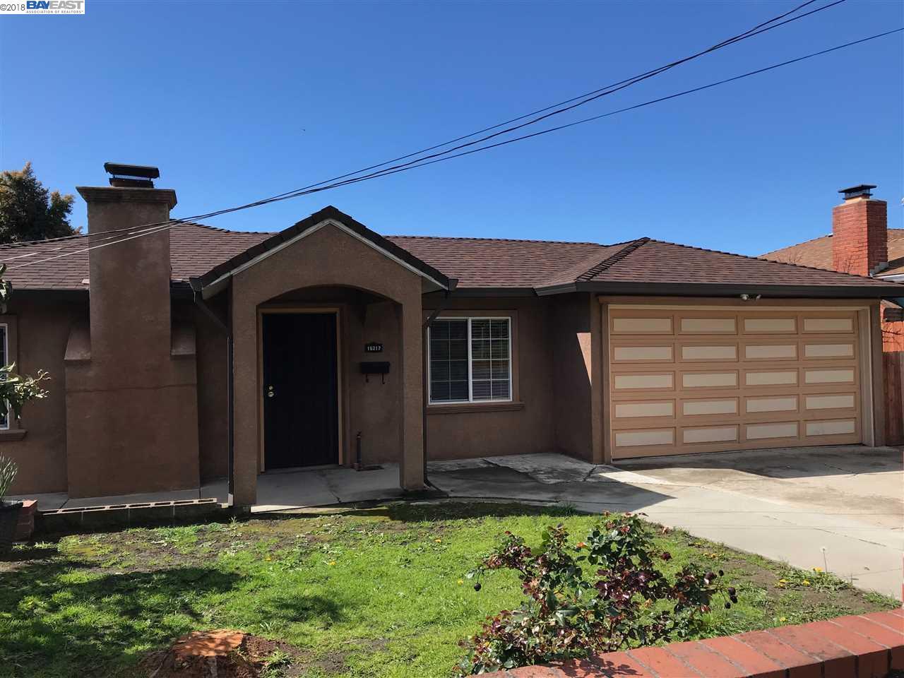 Einfamilienhaus für Mieten beim 16217 Liberty street 16217 Liberty street San Leandro, Kalifornien 94578 Vereinigte Staaten
