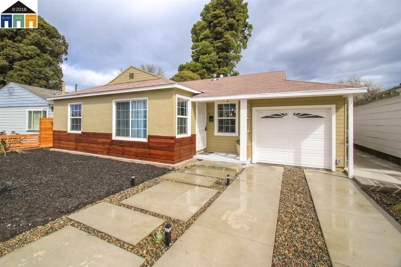 واحد منزل الأسرة للـ Sale في 2735 Greenwood Drive 2735 Greenwood Drive San Pablo, California 94806 United States