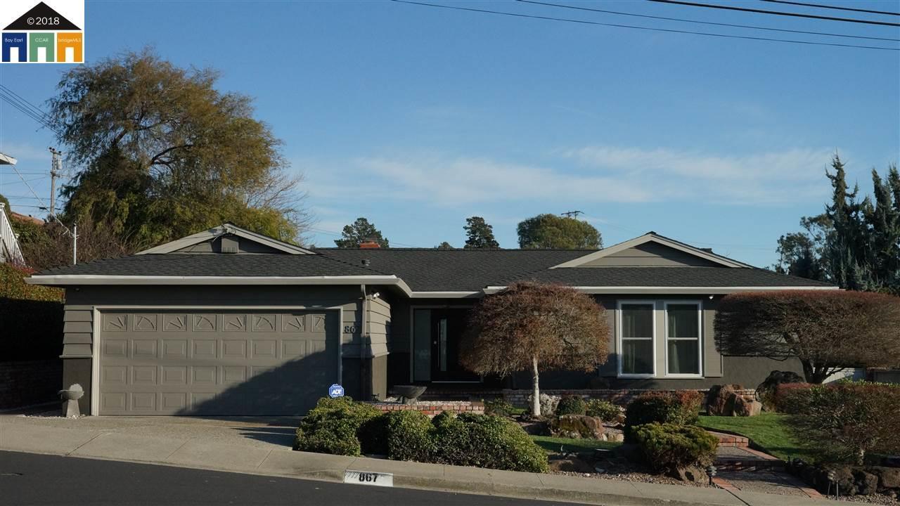 一戸建て のために 売買 アット 867 Elm Drive 867 Elm Drive Rodeo, カリフォルニア 94572 アメリカ合衆国