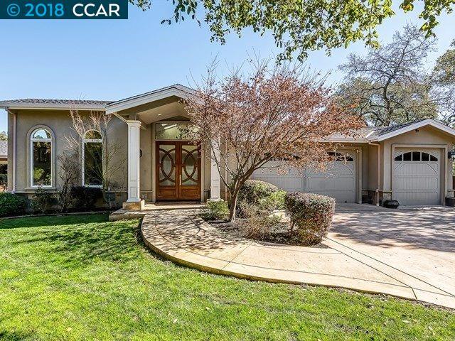 Частный односемейный дом для того Продажа на 1 HARTFORD ROAD 1 HARTFORD ROAD Orinda, Калифорния 94563 Соединенные Штаты