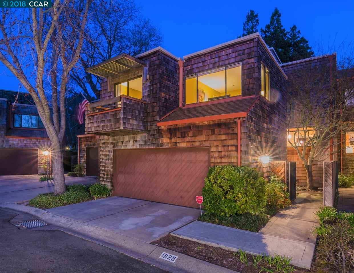 Townhouse for Sale at 1925 Highridge Court 1925 Highridge Court Walnut Creek, California 94597 United States