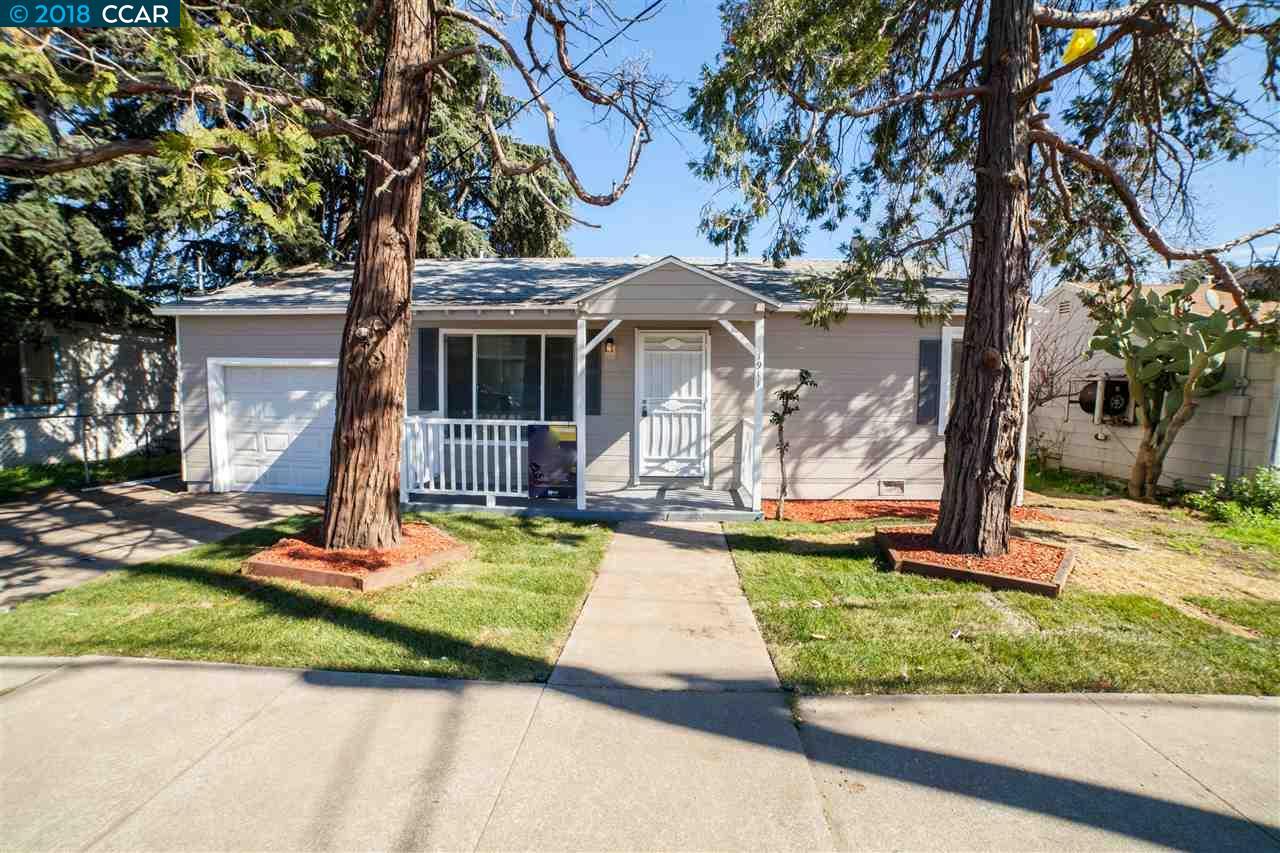 Частный односемейный дом для того Продажа на 1911 A Street 1911 A Street Antioch, Калифорния 94509 Соединенные Штаты