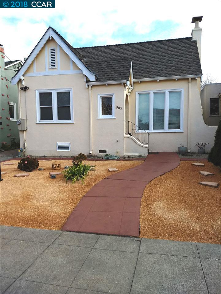 Single Family Home for Sale at 805 Evelyn 805 Evelyn Albany, California 94706 United States