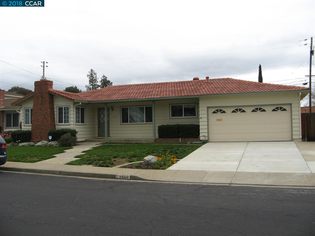 Einfamilienhaus für Mieten beim 4666 Greenbush Drive 4666 Greenbush Drive Concord, Kalifornien 94521 Vereinigte Staaten