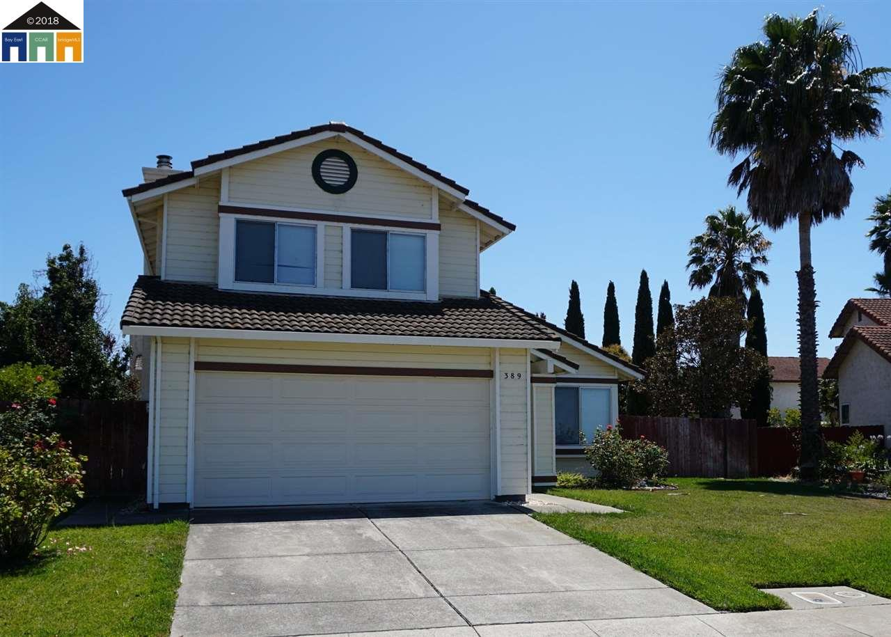 Single Family Home for Sale at 389 Catalina Way 389 Catalina Way Vallejo, California 94589 United States