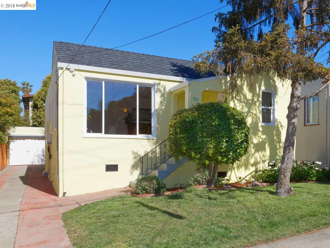 Single Family Home for Sale at 711 Johnson Street 711 Johnson Street Albany, California 94706 United States