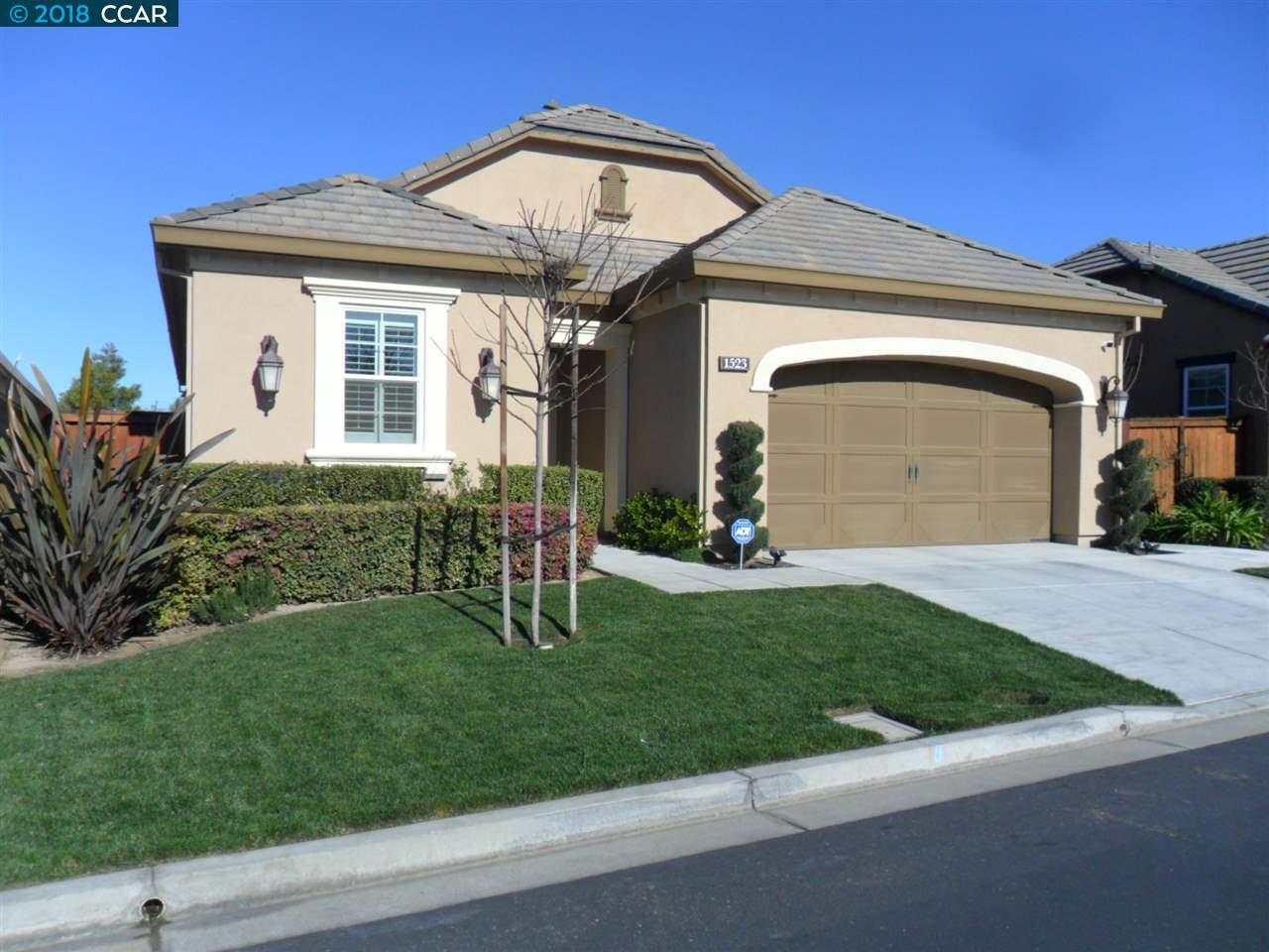 Einfamilienhaus für Verkauf beim 1523 Symphony Circle 1523 Symphony Circle Brentwood, Kalifornien 94513 Vereinigte Staaten