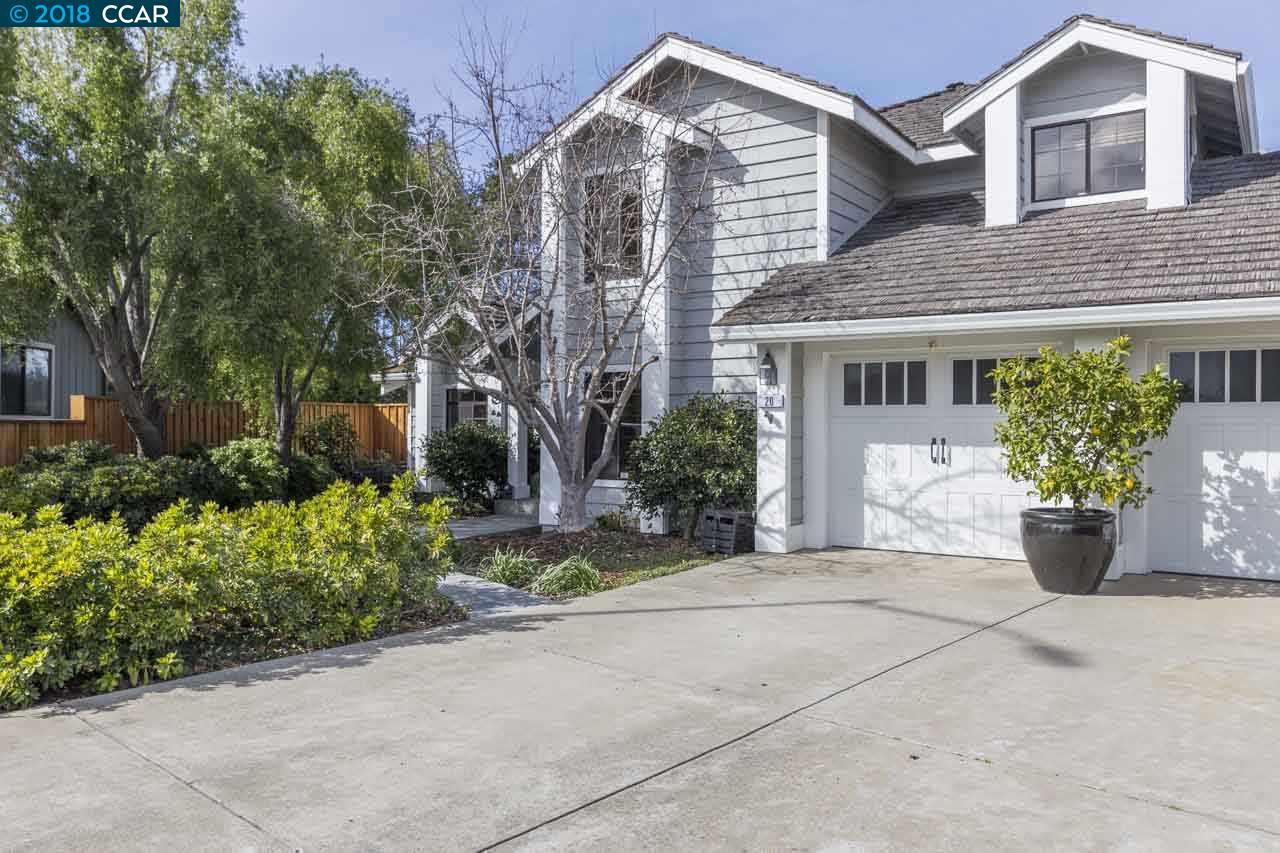 Частный односемейный дом для того Продажа на 20 Powder Bowl Court 20 Powder Bowl Court Richmond, Калифорния 94803 Соединенные Штаты