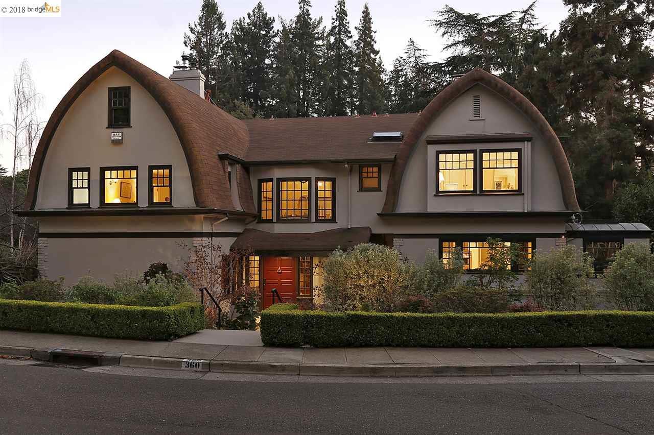 一戸建て のために 売買 アット 360 Mountain Avenue 360 Mountain Avenue Piedmont, カリフォルニア 94611 アメリカ合衆国