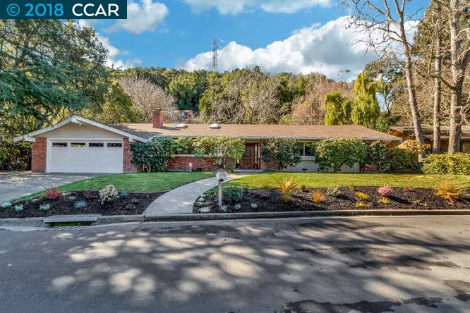 Single Family Home for Sale at 517 McBride Drive 517 McBride Drive Lafayette, California 94549 United States